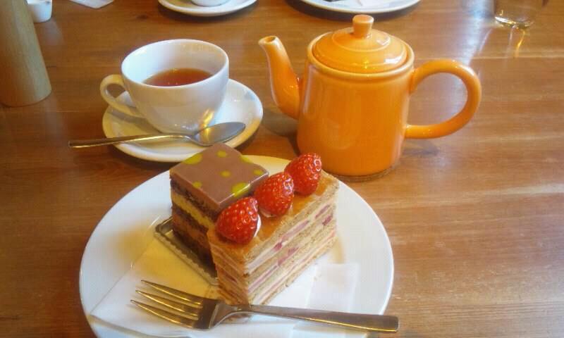 オークウッドのケーキ。一番好きなケーキ屋さん♪